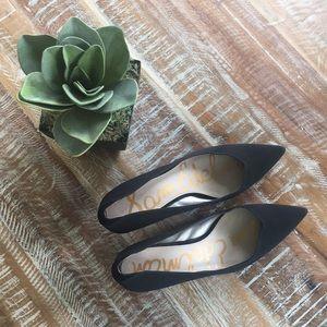 Sam Edelman Laura black kitten heels